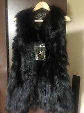 Fashion Winter Real Farm Fox Fur Vest Gilet Long Fox Fur Jacket Grace Women