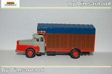 Camion Unic ZU 122 Izoard 59 - 61 Gris & Orange BREKINA - SAI 2961 - Ech HO