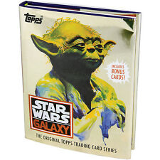STAR WARS TOPPS TRADING CARD BOOK - Star Wars Galaxy Collectors Book