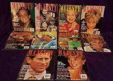 Majesty Magazine Volume 13, 10 issues from 1992, British Royal Family
