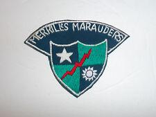 b1813 WW2 US Army CBI 5307th Merrill's Marauders tab green China Burma India R4C