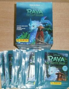 Disney Raya and The Last Dragon Stickers Collection: 10 25 50 packs Box