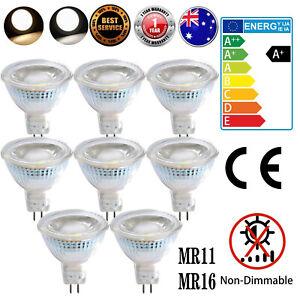 MR11 MR16 3W Downlight Bulb LED COB Spotlight 12V Globe Light Cool Warm White