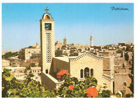 Bethlehem: Partial View, Church Tower, Palestine Rare Picture Postcard