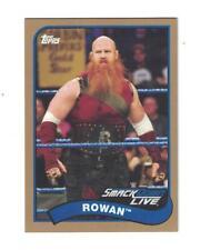 Rowan 2018 Topps WWE Heritage ROSTER UPDATE RETAIL EXCLUSIVE BRONZE #117 /99