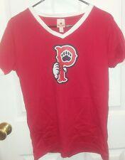 Pawtucket Red Sox Short Sleeve T Shirt Womens size Medium MiLB, Soft as a Grape