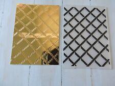 Embossing Folder - Rope Design