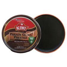 Kiwi Dark Tan Parade Gloss Shoe Polish High Gloss Brown Boot Army Cadet Dark Tan
