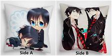 Blue Exorcist Okumura Yukio Rin two sides Pillow Cushion Case Cover