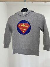 H&M boys SUPERMAN/BATMAN hoodie size 110-116 age 4-6year / 4-6 year see PICS