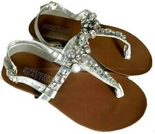 NEW KENNETH COLE REACTION Sandals Girls 13 w/ Rhinestones