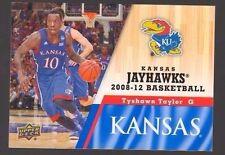 2013 Upper Deck Kansas #75 Tyshawn Taylor Mint Jayhawks KU Basketball