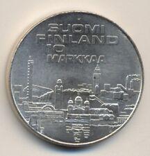 FINLAND 10mk - silver, 1971, BU