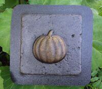 Pumpkin tile mold plastic travertine casting plaster cement mould