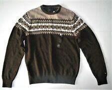 Tommy Hilfiger Mens Brown Sweater Size Small NWT