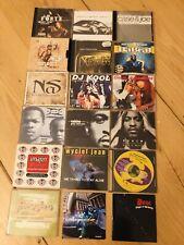 HipHop Single-CD Sammlung 18 Stk US Rap Rakim / Missy / Xzibit / BoneThugs uva.