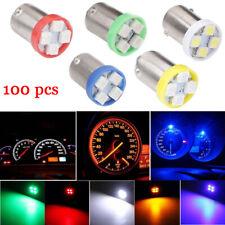 100pc 6V BA9S 1210 4smd led light   (White blue red amber green each kind 20pc)