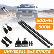 2x 4 Pins Universal 600mm 60CM 800N Gas Struts Spring Kit Conversion Bracke