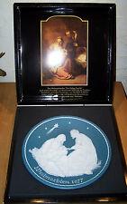 Großer Weihnachtsteller 1977 Villeroy & Boch Mettlach 29,5 cm