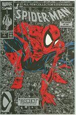 SPIDER-MAN 1 TODD MCFARLANE 1990 BLACK COVER COMIC WHITE STAN LEE SHARP 9.6 9.8