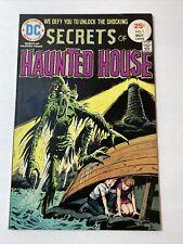 Secrets Of Haunted House #1 Premiere Issue DC Comics 1975 VF+