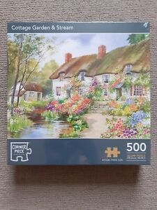NEW Countryside Garden And Stream 500 Piece Jigsaw Puzzle