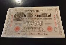 1000 GERMAN MARK , KEICHSBANKNOTE BERLIN 21 APRIL 1910