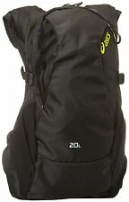 NEW Asics run lyte backpack 20L black NWT back pack
