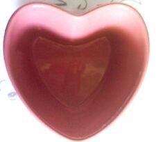 CHANTAL Pink  2 cup Heart Shaped Baking Quiche Pie Tart Dish Mold 2004       #82