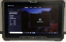 Dell Latitude 7202 Rugged Tablet M-5Y71 8GB 256GB SSD Windows 10 Pro. WiFi