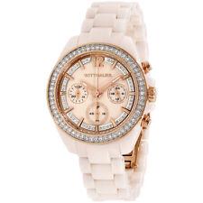 Wittnauer Blush Cream Dial Ceramic Ladies Watch WN4072