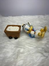 Donald Duck Salt Mine Salt & Pepper Shakers Walt Disney