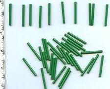LEGO x 40 Green Bar 4L NEW lightsaber blade wand bulk lot 30374