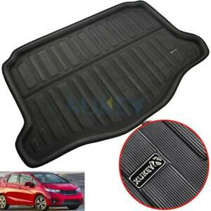 For Honda Fit Jazz Hatch 14-19 Boot Liner Rear Trunk Cargo Mat Floor Tray Carpet