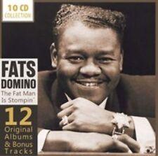 FATS DOMINO (ANTOINE DOMINIQUE DOMINO JR.) - 12 ORIGINAL ALBUMS: THE FAT MAN IS