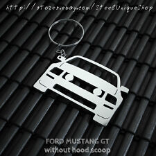 Ford Mustang GT version 2 Stainless Steel Keychain