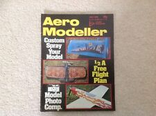 Aero Modeller July 1978 magazine