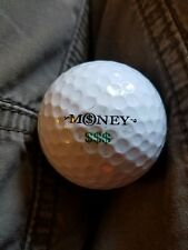 GOLF BALL SLAZENGER MONEY$$$ PREOWNED