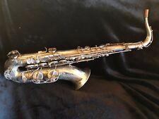 RARE! Selmer Mark VI Tenor Saxophone in Silver