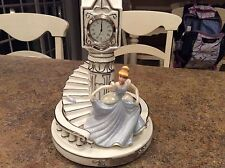Limited Edition Cinderella Time for the Enchanted Musical Clock Collection