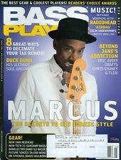 2008 Bass Player Magazine: Marcus Miller/Renaud Garcia-Fons/SWR Awards