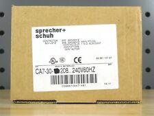 Sprecher+Schuh CA7-30-00 Contactor 208...240V60HZ