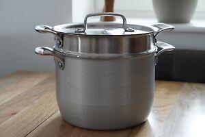 Tefal Jamie Oliver Italian Series Brushed Aluminium Non Stick Pasta Pot 7.5 L