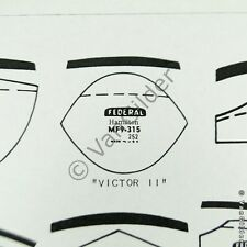 NOS Glass Cylinder Watch Crystal for Asymmetrical Vintage Hamilton Victor II
