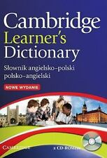 Cambridge Learner's Dictionary English-Polish with CD-ROM: Sownik