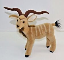 "Fiesta Kudu 12"" Realistic African Antelope Plush Stuffed Animal"