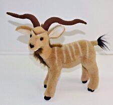 "Fiesta Kudu 12"" Realistic African Antelope Plush Stuffed Animal"