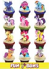 MY LITTLE PONY MIX. Standup commestibili wafer decorazioni per torta Compleanno Bambini Divertente