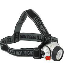 7 LED Head fit torch lamp light worklight headlight bike running or work lamp