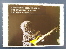 .ad/ handmade greeting card with PATRICK EGGLE guitar